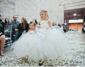 Ivory Flower Girl Dress for Girls