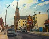 Driggs Avenue Brooklyn, NY print