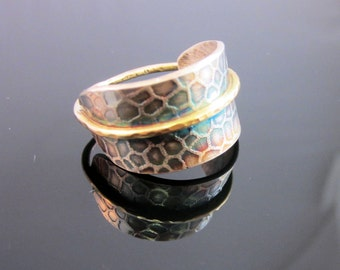 Sterling and Gold Ring