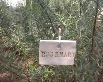 Rosemary Plant Marker