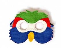 Articoli unici per bambini pappagallo maschera  Etsy