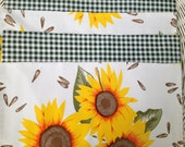 Van Gogh reversible oilcloth placemats in a set of 4