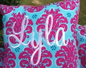 Shopping cart Cover Boutique (Pink and Blue Solaria Medallion) Shopping Cart Cover