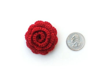 Men's Red Rose Lapel Pin, Men's Red Lapel Flower, Mens Red Flower Boutonniere, Mens Floral Lapel Pin, Mens Wedding Boutonniere