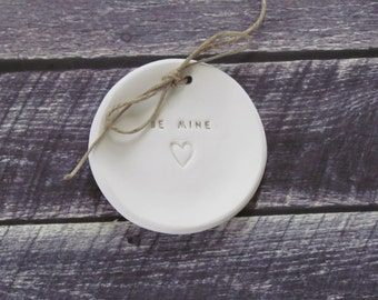Be Mine Wedding ring bearer Ring dish Ring pillow alternative, Ring bearer pillow alternative