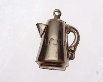 P & B Sterling Tea Pot Charm