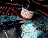 Raven's Blend  (body butter--coffee, hazelnuts, caramel, almonds, dark chocolate)