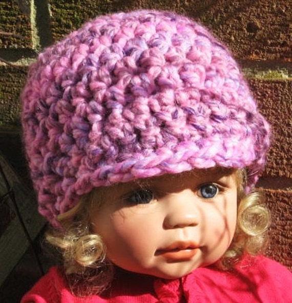 NEWSBOY CAP CROCHET PATTERN - Online Crochet Patterns