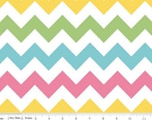 Medium Chevron in Girl by Riley Blake Designs 1/2 yard total
