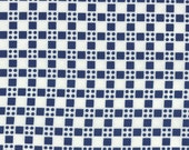 Happy Go Lucky by Bonnie and Camille for Moda Fabrics, Skip navy 1/2 yard total