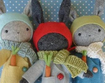 Thistledown Rabbits Pattern