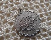 Vintage Charm Beau Sterling Happy Anniversary