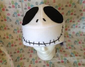 Jack Skellington from The Nightmare Before Christmas Fleece Hat