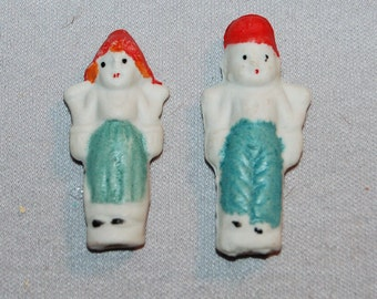 Vintage / Bisque / Doll / Dutch Boy & Girl / Frozen Charlotte /  Penny Doll /  Vintage Dolls