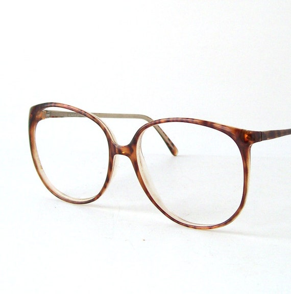 Vintage Tortoise Shell Eyeglass Frames : vintage tortoise shell frames eyewear glasses retro modern
