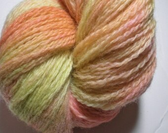 Hand dyed yarn, fingering weight, 440 yds, Peruvian Highland Wool, Happy Easter