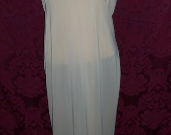 Vintage 50s Long Nylon and Lace Slip