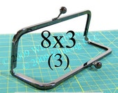 3 Duskcoat Gunmetal(TM) 8x3 purse frame