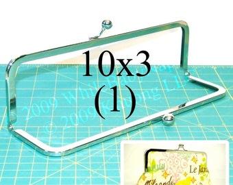 10x3 Nickel-free metal purse frame(TM) kisslock