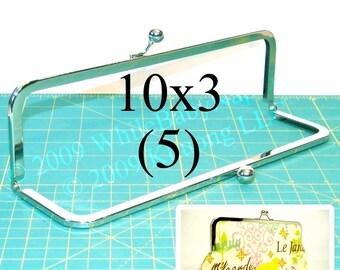 11% OFF 5 Nickel-free 10x3 metal purse frame(TM) kisslock