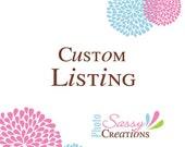 Custom listing for lisaturnbull - custom dinosaur stickers