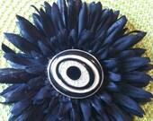 Hypnotic hair flower