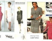 LOT of 2 VOGUE American Designer - Albert Nipon.-