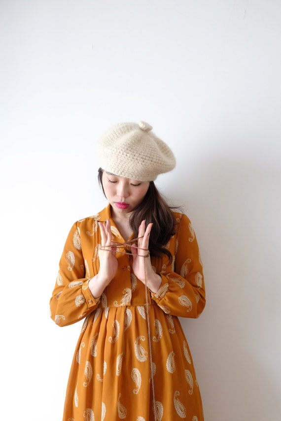 Sienna paisley Japanese vintage dress, xs - small