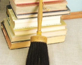 Brush , Antique , Wood and Horse , Hair Brush , Antique Brush , Wood Brush , Large Brush , Horse Hair , Paint Brush , Calligraphy