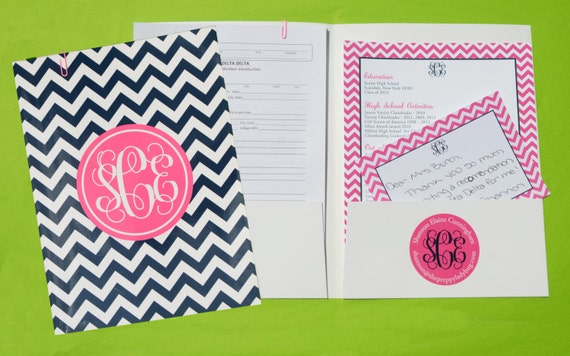sorority recruitment recommendation package the original