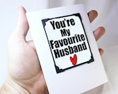 Funny Anniversary Card for Him. Valentines Card for Guys. Funny Magnet Card for Him. MT115