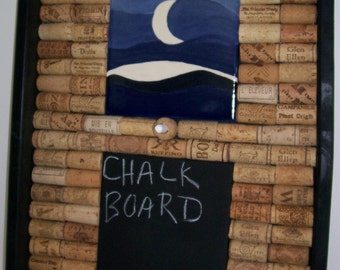 Chalk Board, Wine Corks, Cork Board, Midnight Blue, Chalkboard, Corkboard
