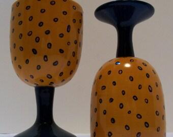 Beer Goblets,Jaguar Mugs, Ceramics And Pottery, Goblets, Wine Goblet
