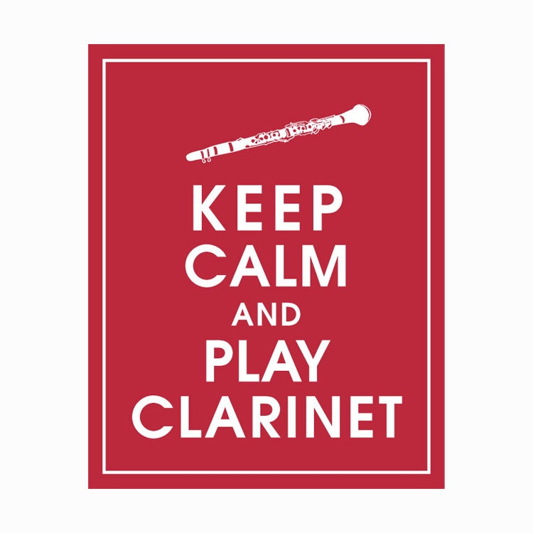 how to play roar on clarinet
