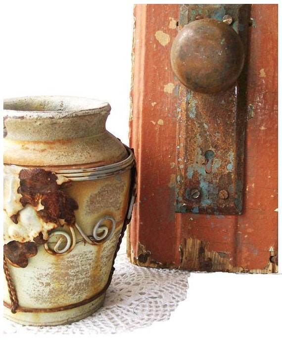 Antique Coat Hook. Rustic Salvaged wall art. Salvaged hardware. Wall Hook