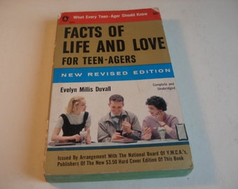 Facts Of Life And Love For Teen-Agers Vintage 1950s Book , By Evelyn Duvall, Dating, Romance, Birds And  Bees