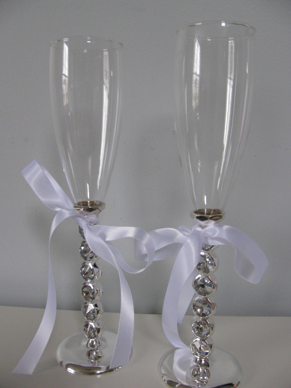 wedding cake serving set and flutes wedding cake serving set and toasting glasses by 24298