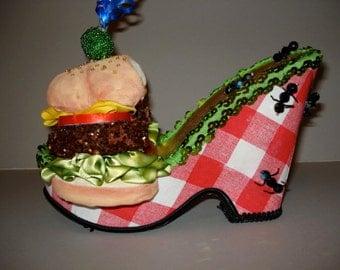 """Shoe sculpture """" The Picnic"""""""