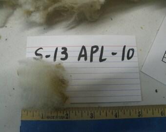 Raw Whole Fleece Sheep Fiber B-10 APL