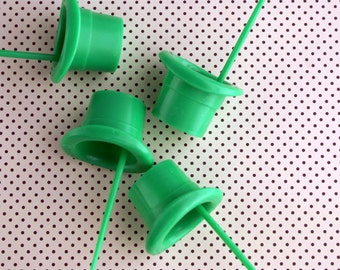 St. Patrick's Day Cupcake Topper / Leprechaun Hat Cupcake Picks