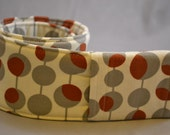 Camera Strap Cover with Lens Pocket - Made with Amy Butler fabric