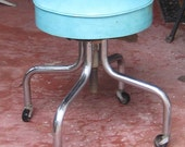 Whats Up Doc Vinatge Industrial Chic Doctor Stool Adjustable