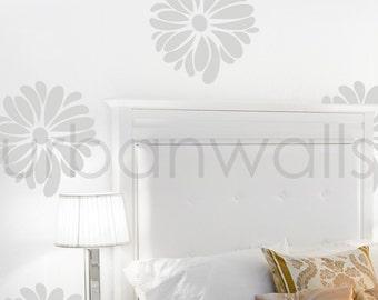 Vinyl Wall Sticker Decal Art, Pretty Flower Pattern