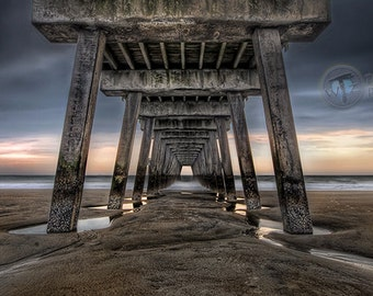 The Tide is Turning- Tybee Island Georgia  Fine Art  Photographic  Print
