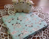 New Standard Size Pillowcase with Retro Style Sweet Little Puppy Dogs & Kitty Cats