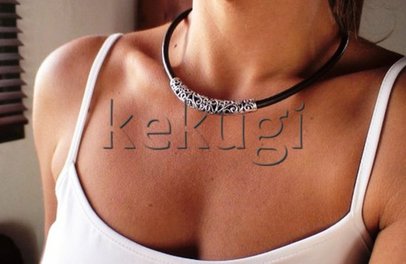 tribal necklace, choker necklace, leather jewelry, tribal jewelry, ethnic jewelry, african jewelry, womens necklaces, fashion jewelry