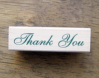Thank You Cassic Stamp (2.4 x 0.7in)