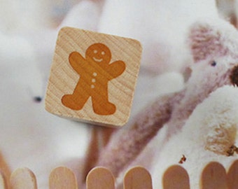 Gingerbread Stamp (0.75 x 0.75in)