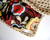 Crochet Pattern for Reversible Baby Blanket - Easy Advanced Beginner Pattern On Sale - Reg 7  INSTANT DOWNLOAD