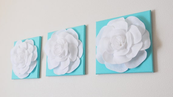 Tiffany blue wall decor